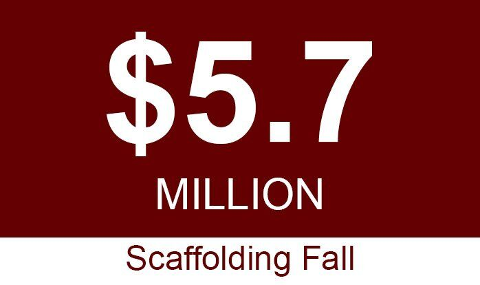 sac workers comp five million scaffolding fall