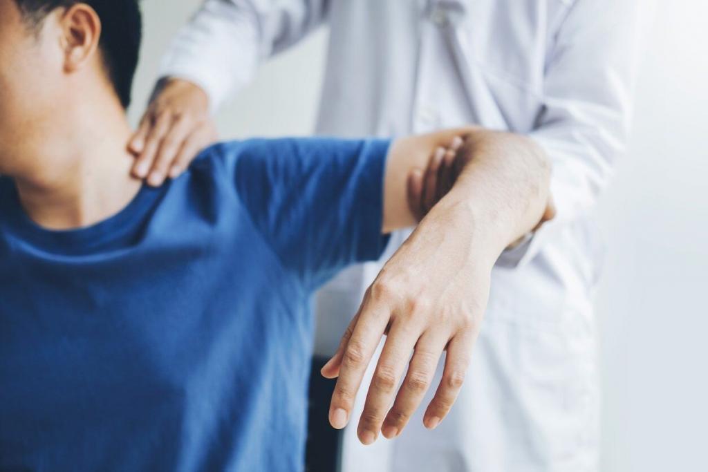 Work Related Injuries Shoulder Injury