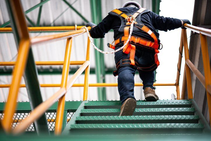 Dangerous Unsafe Condition in Workplace Construction Falls