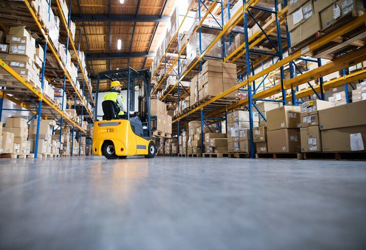 Dangerous Unsafe Condition in Workplace Fork Lifts