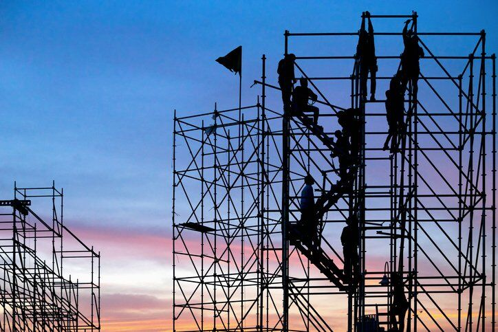 Dangerous_Unsafe Condition in Workplace Scaffolding Falls