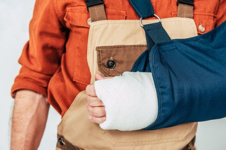 What should I do if I am injured at work in California