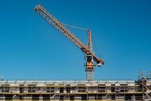 Crane Tips Over in Downtown Sacramento