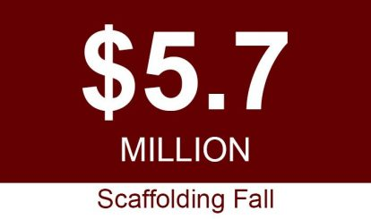 Sacramento Workers Compensation Five Million Scaffolding Fall