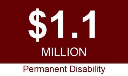 Sacramento Workers Compensation One Million Permanent Disability